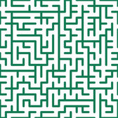 Seamless maze — Stock Vector