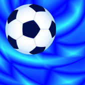 Ball on abstract background — Stock Vector