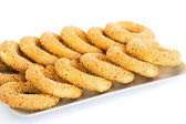 Round rusks — Stock Photo