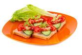 Sandwiches — Stockfoto