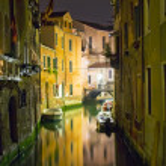 Venice at night — Stock Photo #1007330