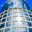 Blue skyscraper and blue sky — Stock Photo #12110422