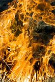 Dragon fire — Stock Photo