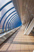 Interior of the business bridge Bagration — Stock Photo