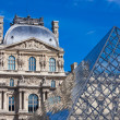 louvre museum — Stock Photo