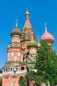 Saint basil katedralen i moskva — Stockfoto