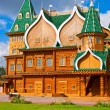 Wooden palace in Russia — Foto de Stock