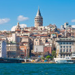 Galata district — 图库照片