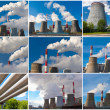 Air pollution — Stock Photo