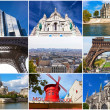 Paris in France — Foto Stock