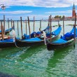 Gondolas in Venice — Stock Photo #36968899