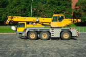 Automobile crane — Stock Photo