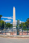 Egyptian obelisk in Istanbul — Stock Photo