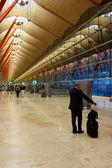 аэропорт мадрида — Стоковое фото