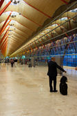 Madrid Airport — Stock Photo