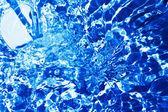 Acqua blu — Foto Stock