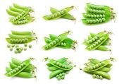 Peas — Stock Photo
