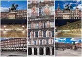 Plaza Mayor in Madrid — Stock Photo