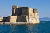 Castel dell' Ovo in Naples — Stock Photo