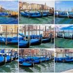 Gondolas in Venice — Stock Photo #37567371