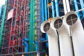 Pompidou centre in France — Stock Photo