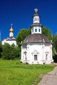 Igreja em serguiev possad — Foto Stock