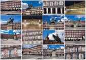 Plac Plaza mayor w Madrycie — Zdjęcie stockowe