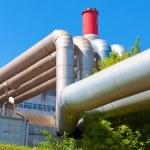 Heavy industrial tubes — Stock Photo #37823823