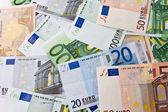 Euro peníze — Stock fotografie