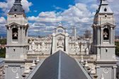 собор альмудена — Стоковое фото