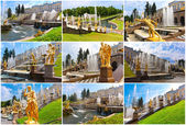 Peterhof in Saint Petersburg — Stock Photo