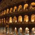 Koloseum v Římě — Stock fotografie