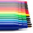 Color markers — Stock Photo