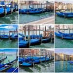 Gondolas in Venice — Stock Photo #38411233
