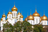 Catedrais do kremlin de moscovo — Fotografia Stock