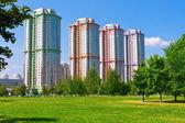 Costruzioni di appartamento moderni — Foto Stock