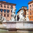 Stock Photo: Fountain of Neptune