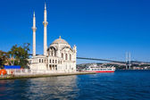 Ortakoy Mosque — Stock Photo