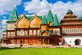 Wooden palace in Russia — Stock Photo