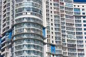 Modern apartment building — Stock Photo