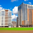 Modern apartment buildings — Stock Photo #39533581