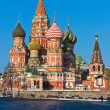 Saint Basil Cathedral in Moscow — Stock Photo #39685139
