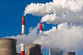 Air pollution — Stock Photo