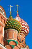 Saint Basil Cathedral in Moscow — Stock Photo
