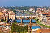 Ponte vecchio we Florencji — Zdjęcie stockowe