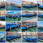 Gondolas in Venice — Stock Photo #39792995
