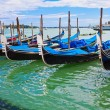 gondols in venice — Stockfoto #39793101