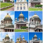 Постер, плакат: Churches in Saint Petersburg