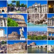 Rome collection — Stock fotografie #40148143