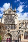 Notre Dame de Paris — 图库照片